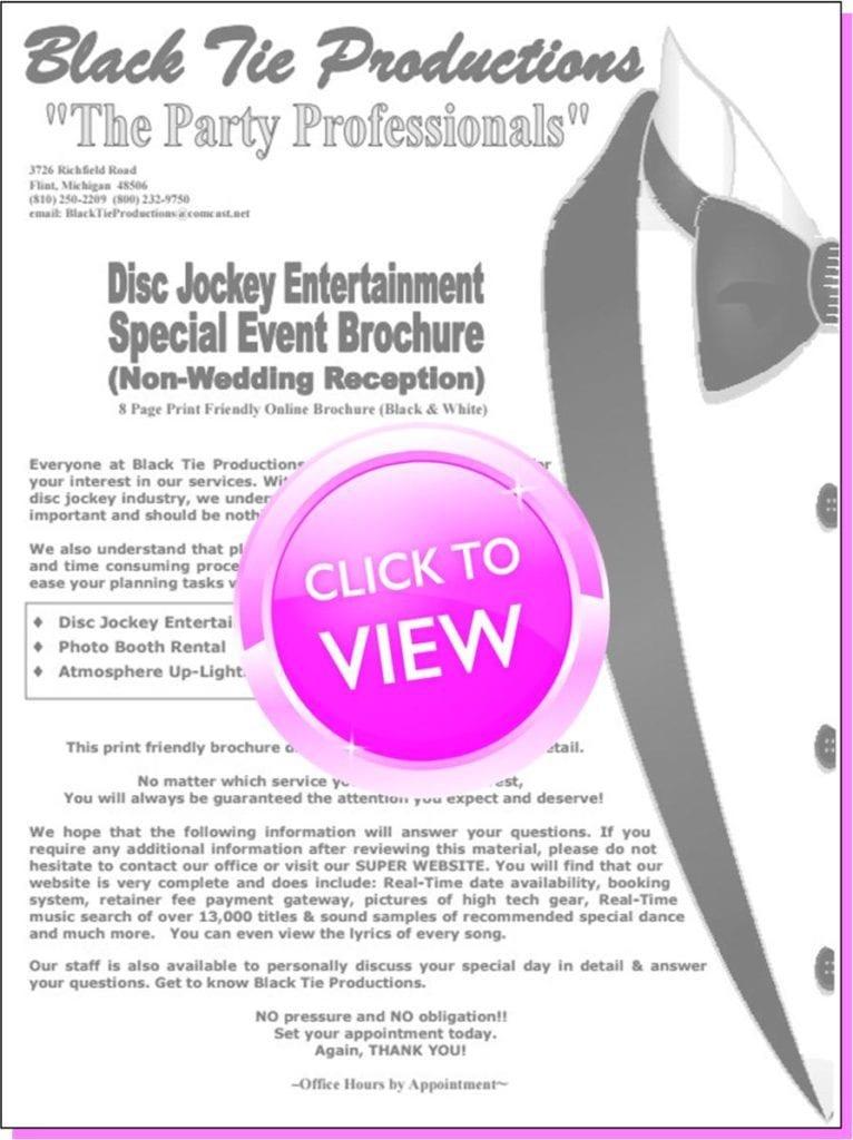 Event DJ Services      (Non-Wedding)