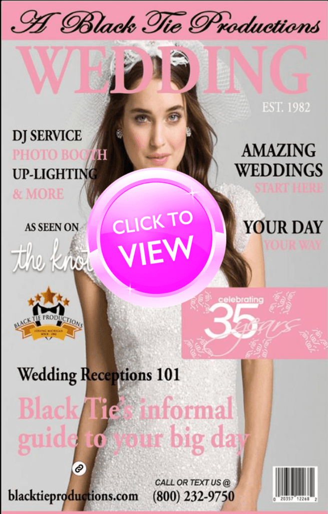 "Black Tie Productions ""Click Here"" to view interactive digital brochure."