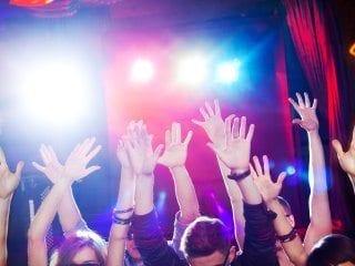 Black Tie Productions school dance - hands up!