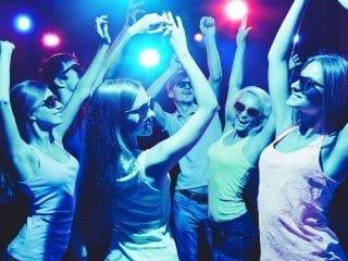 Black Tie Productions school dance - Glow Party!