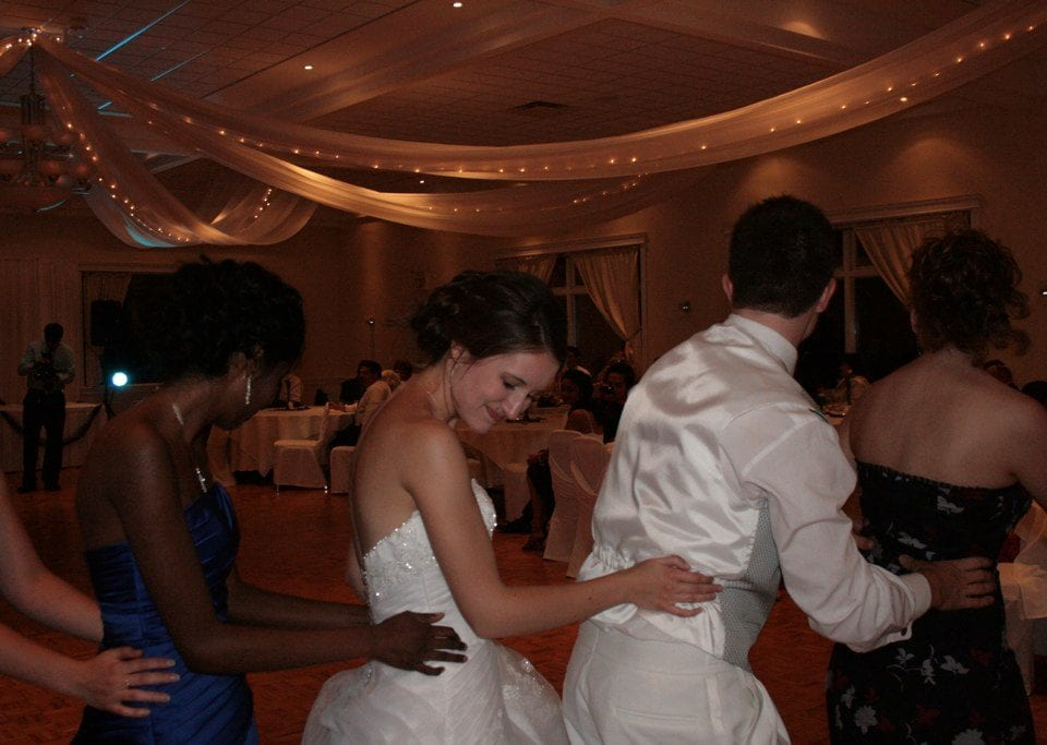 wedding group dances